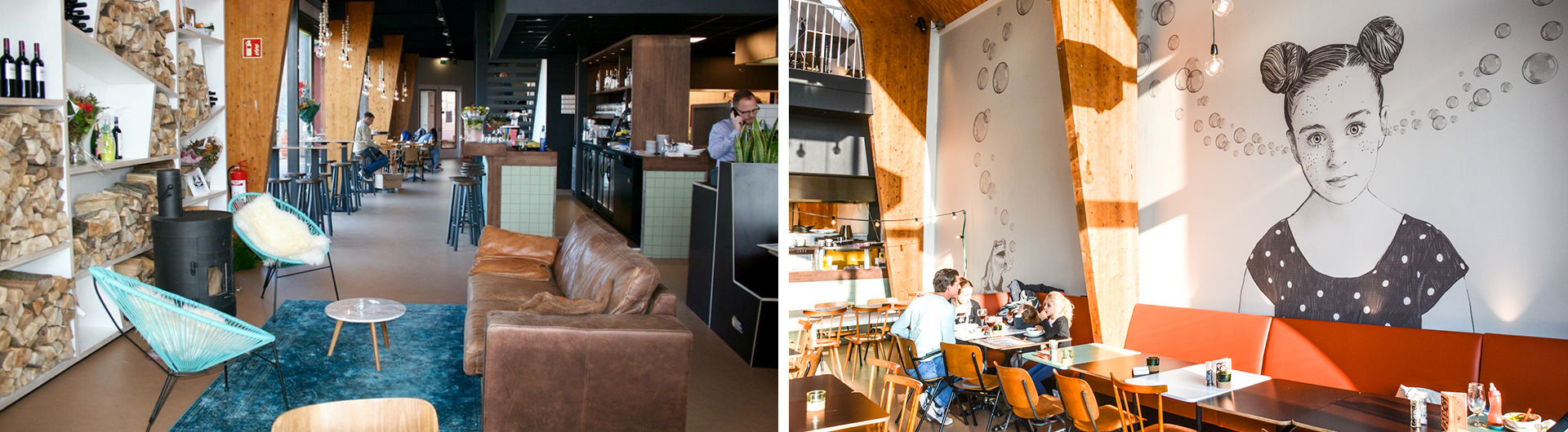 interieur restaurant Bruis Blaricum