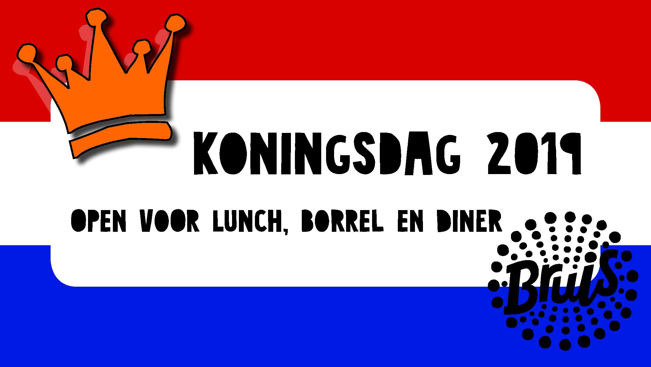 Koningsdag Banner 2019