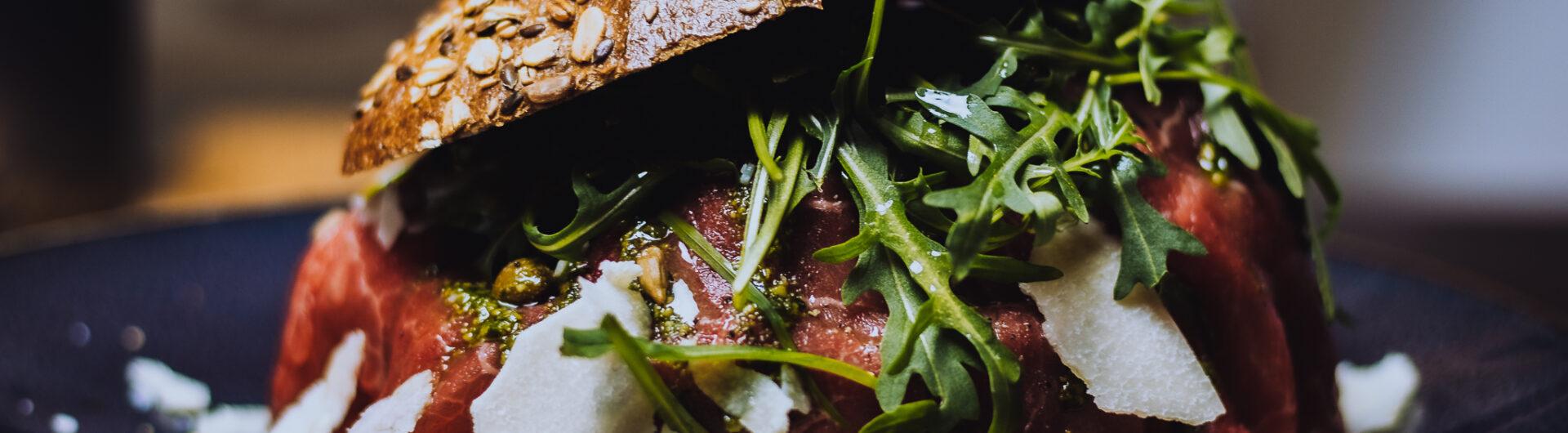 Broodje Carpaccio restaurant Bruis Blaricum
